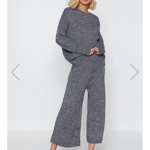 Nasty gal You've Met Your Match Sweater & Pants